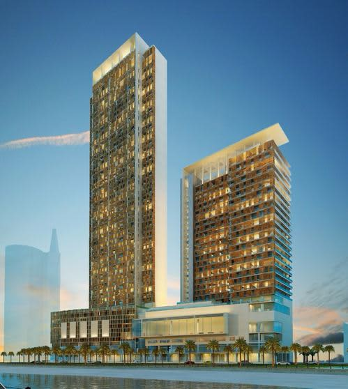 SAHM exclusive agent of ZOOMLION tower cranes to construct massive new Aqua Raffles project in Jeddah