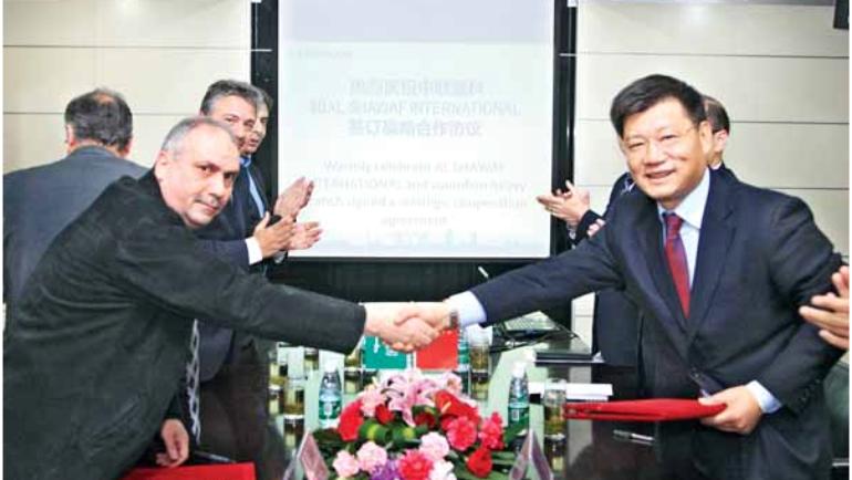 Al-Shawaf internatioal  Signs Strategic Cooperation Agreement with zoomlion