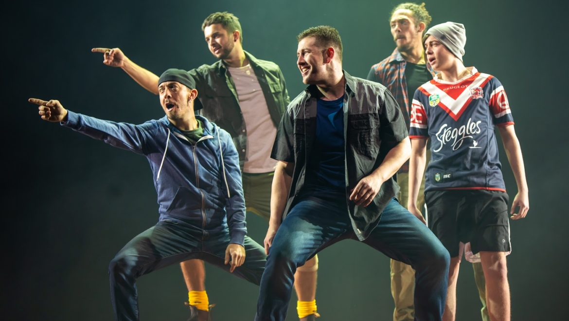 """Glory Events presents """"Tap Dogs""""international dance groups perform in Saudi Arabia"""
